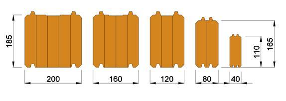 grosor paredes casas madera