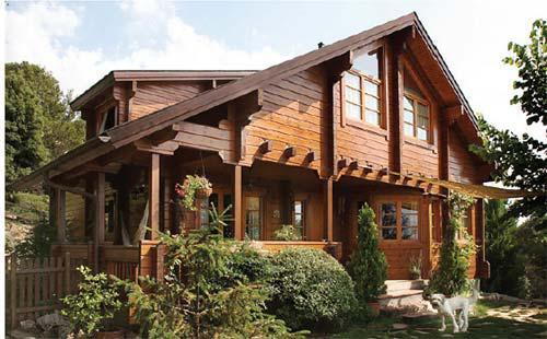 De d nde viene la madera de las casas casas ecol gicas - Casas de madera y mas ...