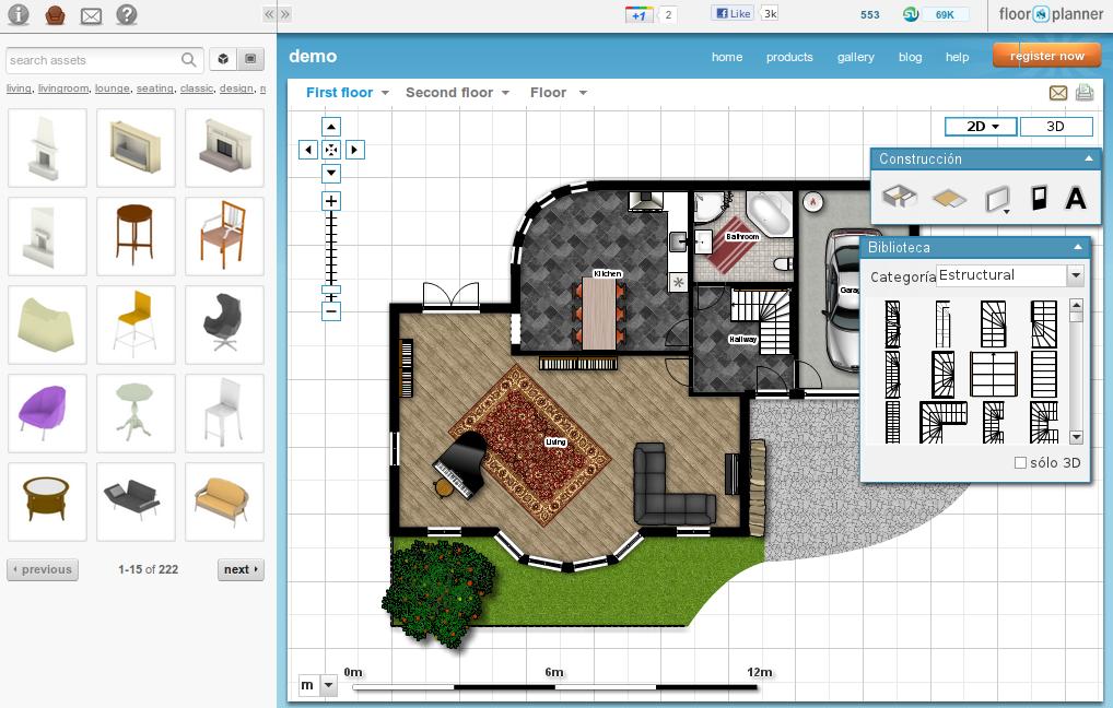 Programas para hacer planos de casas modernas for Software para disenar muebles gratis
