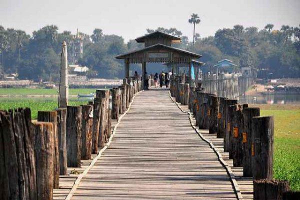 puentes de madera antiguos