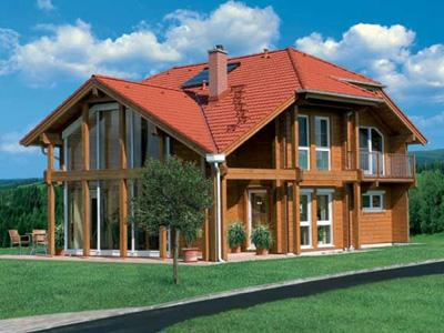 chalet de madera casas de madera