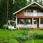 Casas de madera: 30 fotos