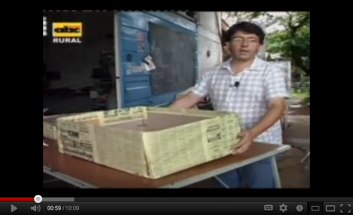 como hacer un horno solar