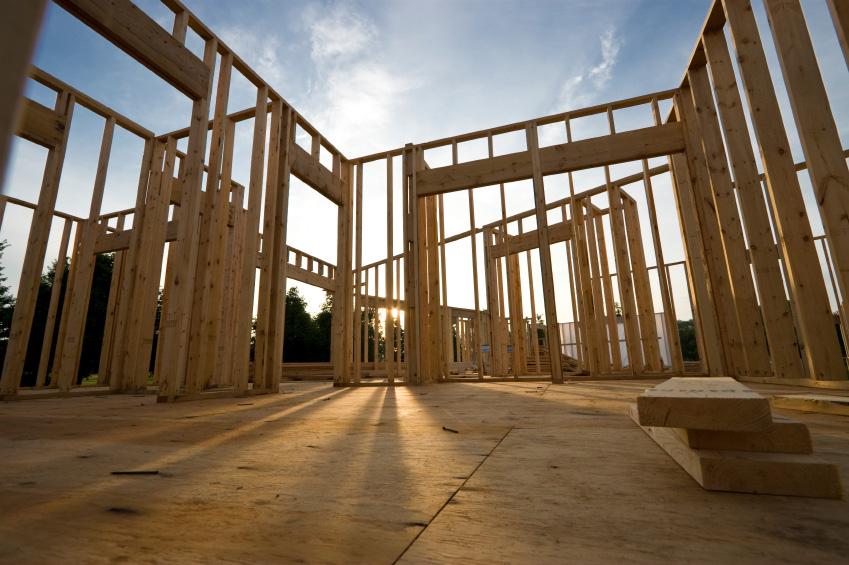 Madera para estructuras casas ecol gicas - Estructura casa madera ...