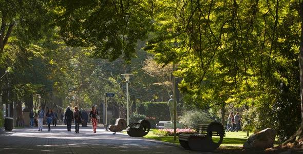 Beneficios de los árboles para las ciudades, Parque Florida - Vitoria