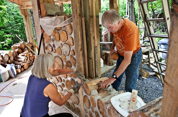 Construcci n de casas de madera de le a casas ecol gicas for Construccion de chimeneas de lena
