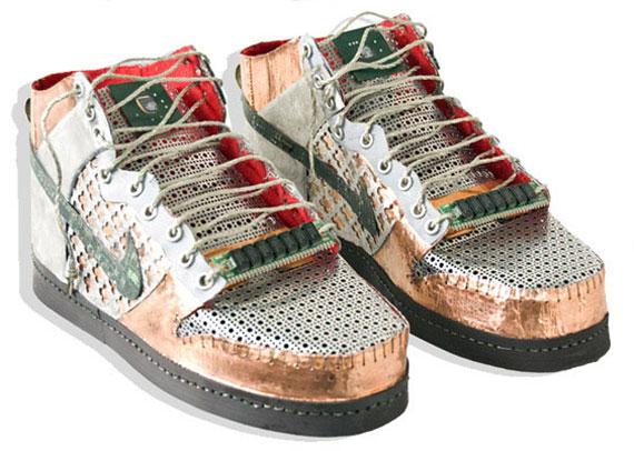 Originales Zapatillas Hechas Con Resiudos Electronicos Reciclados