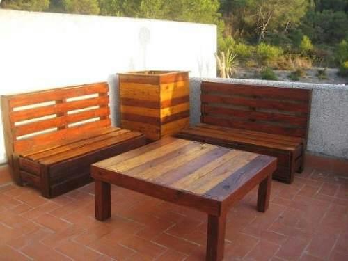 Muebles hechos con palets para decorar tu casa o jard n - Palets muebles reciclados ...