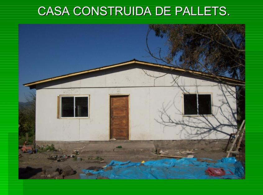 Casa De Palets Proyecto Para Dignificar La Vivienda