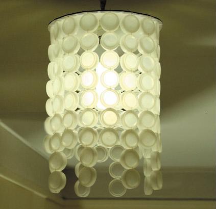 materiales hechas con Casas Lámparas Ecológicas reciclados 9HIDE2