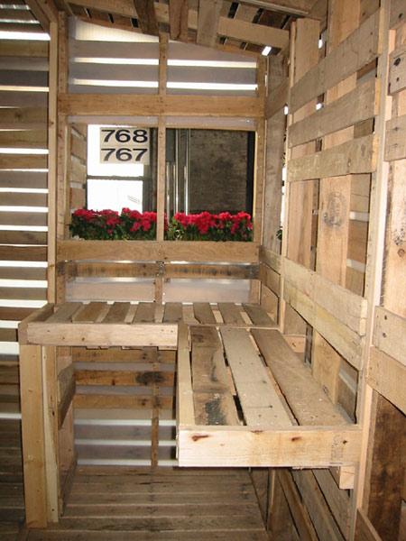 Casa de palets para refugiados casas ecol gicas - Casa home muebles ...