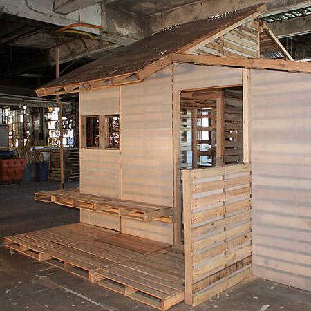 Casa De Palets Para Refugiados Casas Ecolgicas