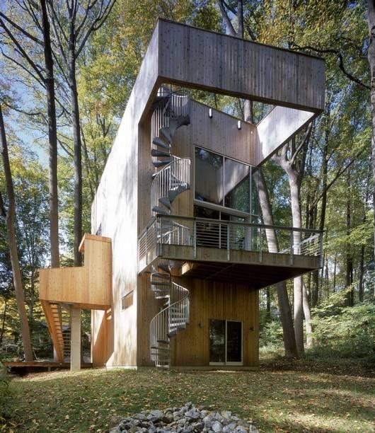impacto ambiental del uso de la madera en la construcción de casas