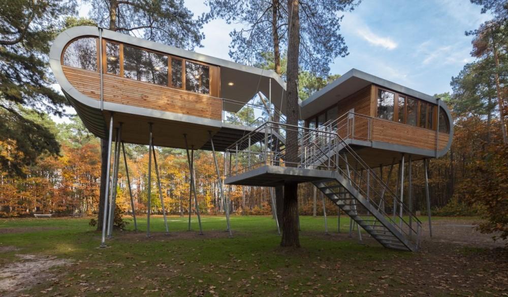 Una casa en el rbol como s mbolo de sostenibilidad casas for Casa en el arbol cuenca