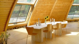 vivienda domo madera