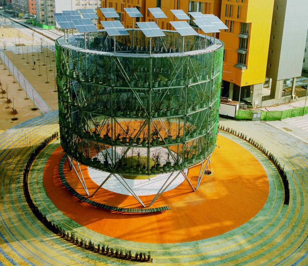 12 edificios ecol gicos del mundo casas ecol gicas - Tarimas del mundo madrid ...