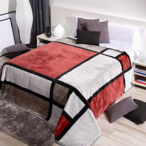 Mantas de terciopelo ofrecen un calor confortable casas - Mantas de terciopelo ...