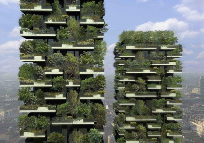 Cinco jardines verticales impresionantes casas ecol gicas for Jardines verticales construccion