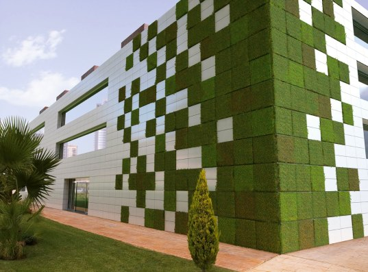 Cinco jardines verticales impresionantes casas ecol gicas - Jardines verticales exterior ...