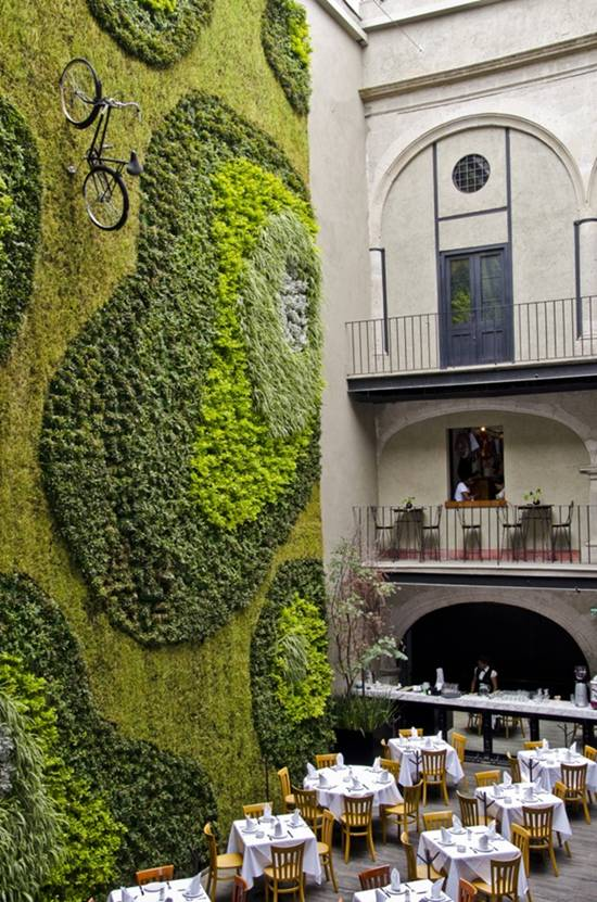 Cinco jardines verticales impresionantes casas ecol gicas for Jardines verticales mexico
