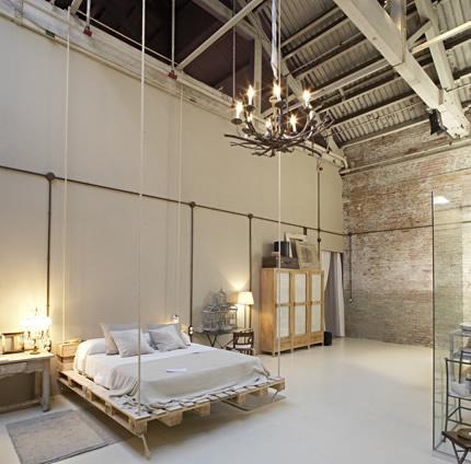 C mo hacer una cama de palets muy chula casas ecol gicas for Cama con palets