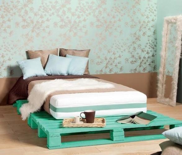 single pallet beds
