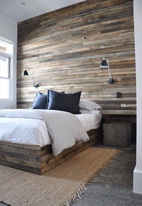 7 camas de palets en las que te encantar a dormir casas - Camas con palets ...