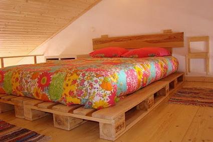 large pallet beds