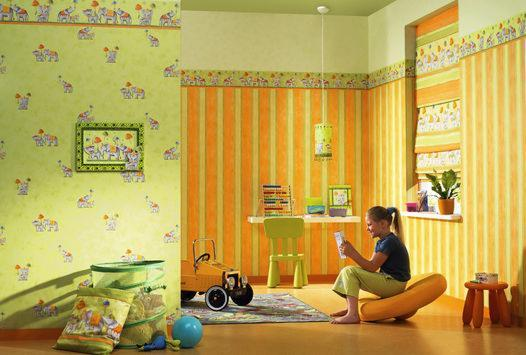 papel pintado infantil, papel tapiz para niños