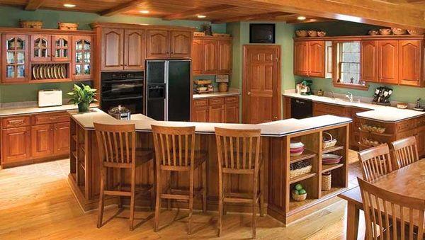 la madera cocina