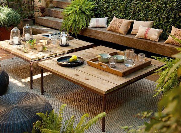 Muebles de jardín ecológicos, consejos para escogerlos-Casas Ecológicas
