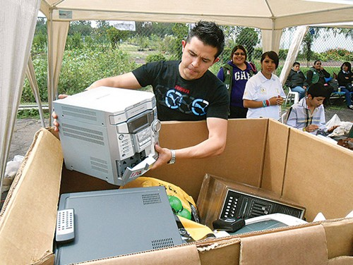 reciclar basura electrónica