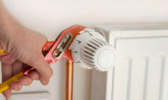 calderas de gas, purgar radiador