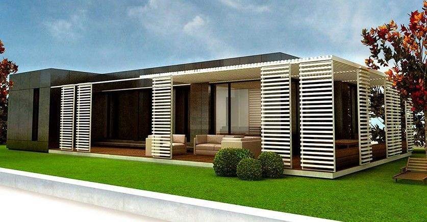 El giro ecol gico de las casas prefabricadas modernas - Casas prefabricadas de hormigon modernas ...
