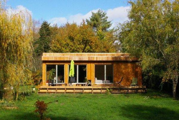 Casas de madera de troncos casas ecol gicas - Casas prefabricadas de madera espana ...