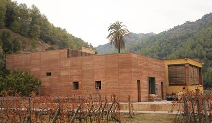 construcción ecológica con tapial