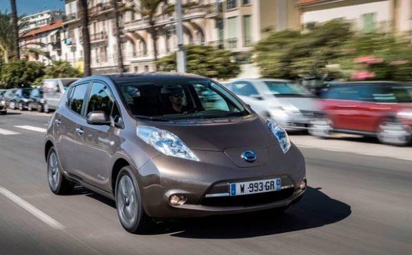 Auto eléctrico Nissan Leaf 2016