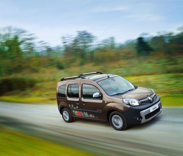 auto eléctrico, Renault Kangoo
