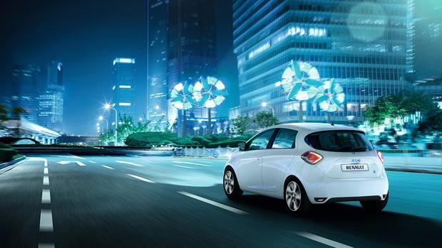 coches eléctricos, renault zoe