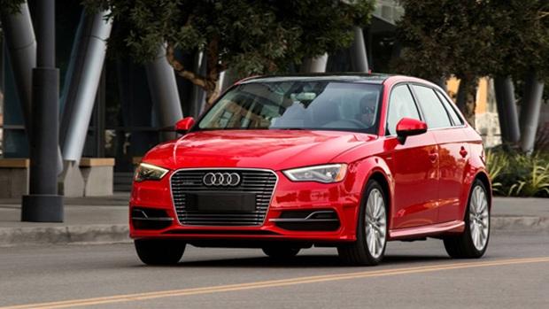 Audi A3 e-tron, coche híbrido