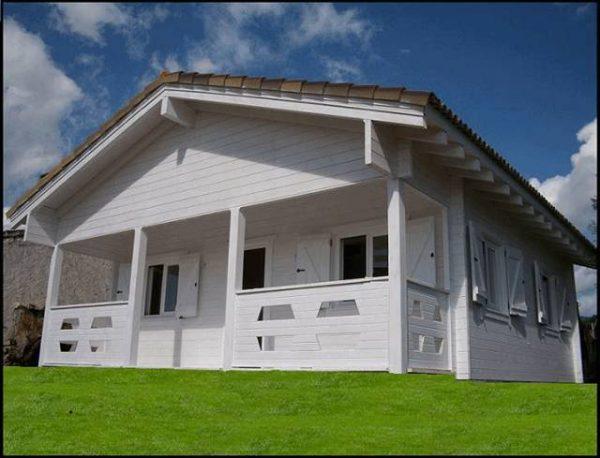 Plano de casa de 60 m 2 habitaciones y porche casas - Fotos de la casa blanca por fuera ...