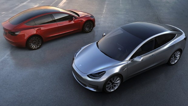 Tesla Model 3, auto eléctrio