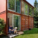 Construcción de casas contenedores