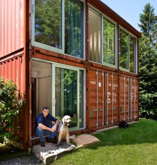 Construcci n de casas contenedores casas ecol gicas - Cuanto cuesta hacer una casa de dos plantas ...