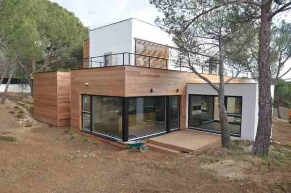La casa de madera m s grande de espa a casas ecol gicas - Casas ecologicas en espana ...