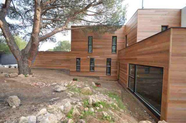 La casa de madera m s grande de espa a casas ecol gicas - Casas de madera economicas espana ...