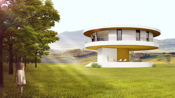 Primera casa dom tica giratoria en espa a casas ecol gicas - Casas ecologicas en espana ...