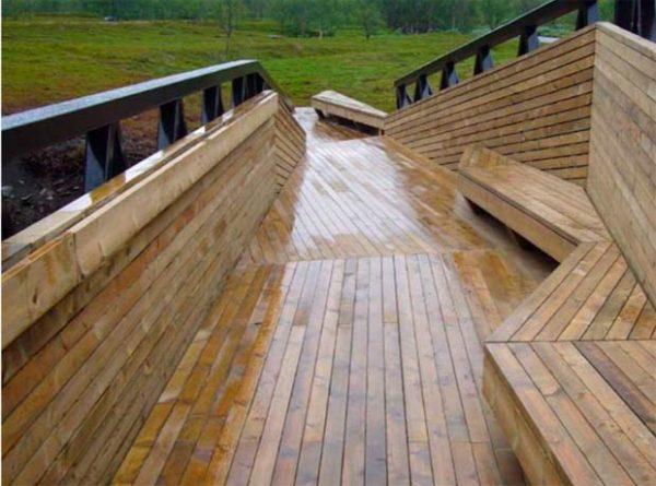 Productos de madera utilizados en la arquitectura