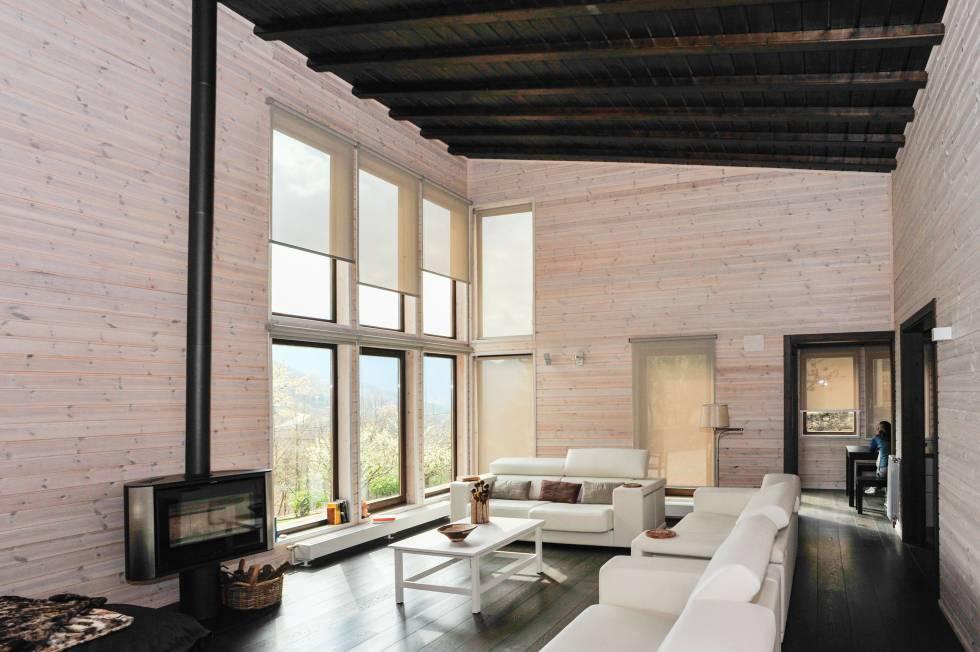 7 consejos para decorar casas prefabricadas for Habitat decoracion