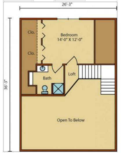 plano casa 2 plantas, 3Hab. 2B.